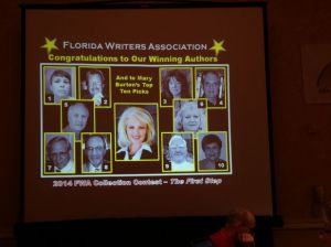 The top ten authors selected by Mary Burton, USA and NYT bestselling author!. I'm number three.