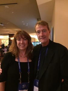 A chance encounter with Lee Child